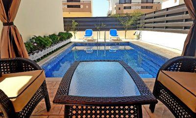 Цена снижена! BRAND  NEW вилла ДАФНИ с 3 спальнями и большим бассейном в 5 минутах от пляжа МАЛАМА БИЧ