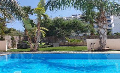 Уютная вилла МИШЕЛЬ 8 с большой зеленой зоной и бассейном в 5 минутах от променада и пляжей